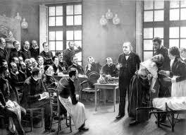 Begründete die Pariser-Hypnoseschule. Hier eine Demonstration der Behandlung einer Hysterischen Patientin
